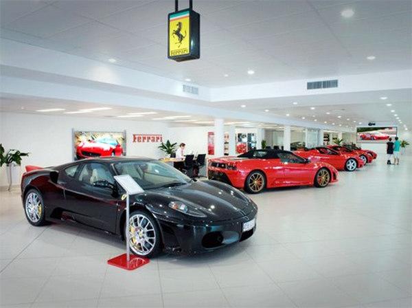 thiết kế showroom xe hơi 4