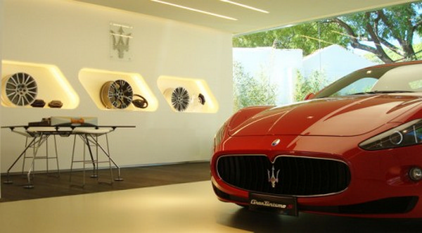 thiết kế showroom xe hơi 5
