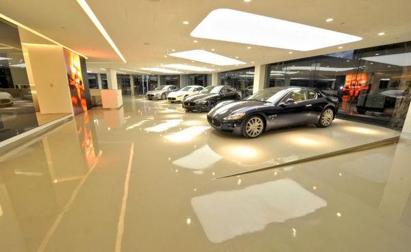 thiết kế showroom xe hơi 6