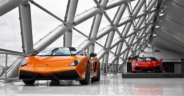 thiết kế showroom xe hơi 8