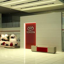 thiết kế showroom toyota 3