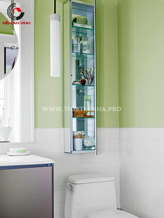thiết kế nội thất phòng tắm nhỏ 4