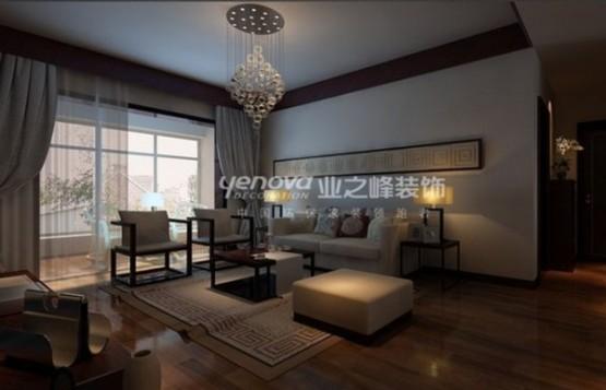 thiết kế phòng khách theo phong cách trung hoa 8