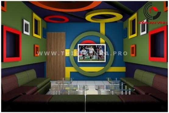 thiết kế quán karaoke đẹp 3