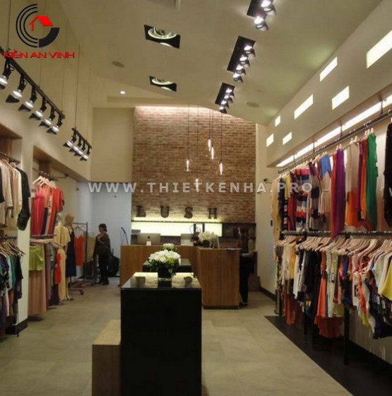 thiết kế shop thời trang 1