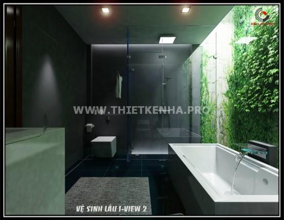 Nội thất phòng tắm nhà phố hiện đại 2