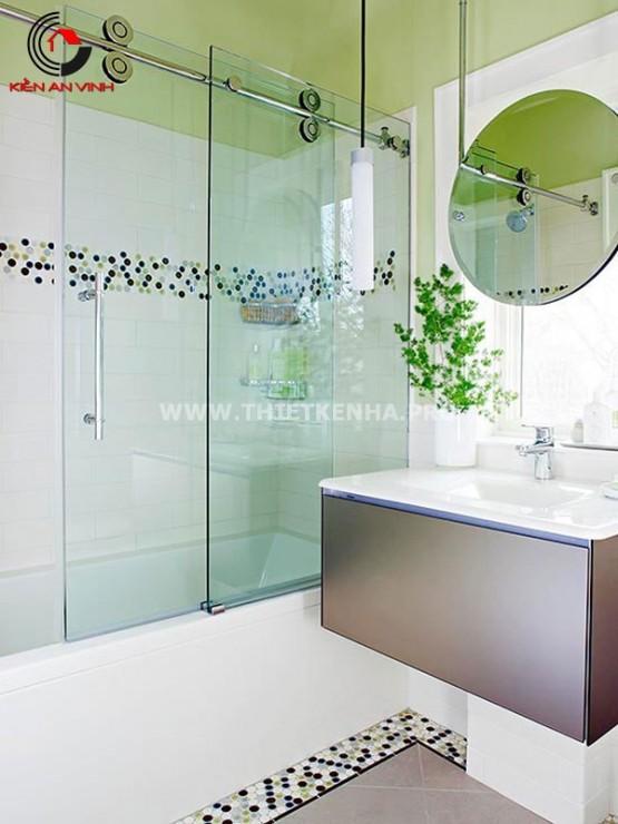 thiết kế nội thất phòng tắm nhỏ 1