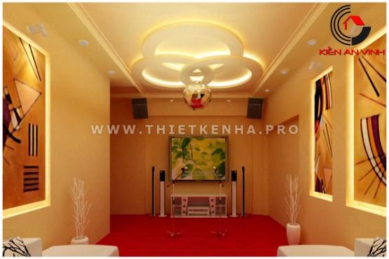 thiết kế quán karaoke đẹp 4