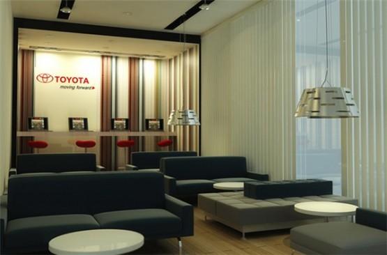 thiết kế showroom toyota 1