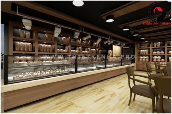 thiết kế cửa hàng bánh BakeMart 2