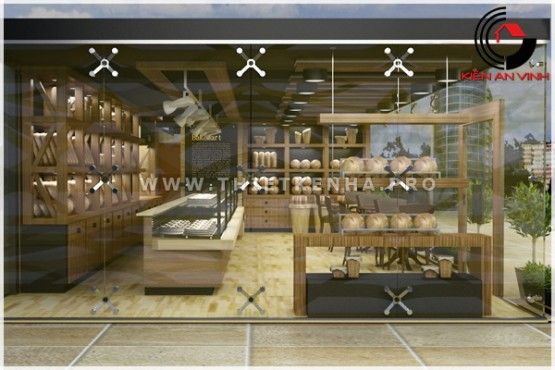 thiết kế cửa hàng bánh BakeMart 3