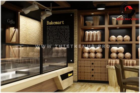 thiết kế cửa hàng bánh BakeMart 4