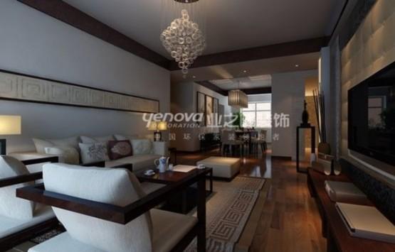 thiết kế phòng khách theo phong cách trung hoa 9