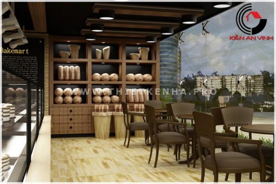 thiết kế cửa hàng bánh BakeMart 5
