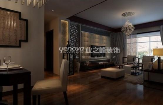 thiết kế phòng khách theo phong cách trung hoa 7