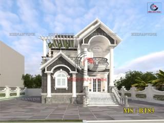 Thiết kế biệt thự 2 tầng đẹp bán cổ điển