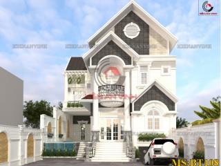 Mẫu thiết kế biệt thự 2 tầng đơn giản đẹp