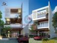 Mẫu thiết kế biệt thự phố 3 tầng đẹp