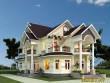 Mẫu thiết kế biệt thự 2 tầng đẹp mái thái Đồng Nai