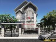 Biệt thự 2 tầng phong cách hiện đại đẹp mái thái tại Đồng Nai