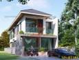 Kiến trúc biệt thự pháp 2 tầng đẹp Bình Dương