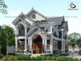 Mẫu biệt thự 2 tầng mái thái đẹp ở Long An