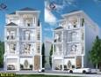 Mẫu biệt thự 3 tầng phong cách tân cổ điển đẹp tại An Giang