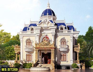 Biệt thự cổ điển kiểu châu âu đẹp nhất hiện nay