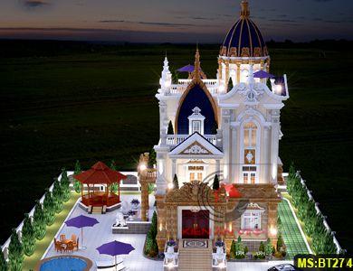 Biệt thự cổ điển lâu đài phong cách châu âu đẹp