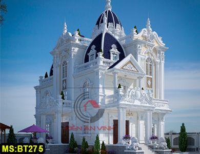Biệt thự 3 tầng bán cổ điển lâu đài châu âu đẹp