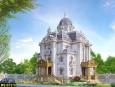 Mẫu biệt thự 3 tầng cổ điển đẹp tại Long An