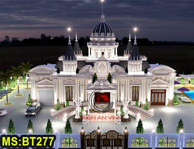 Biệt thự tân cổ điển phong cách châu âu tại Nha Trang