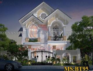 Biệt thự 2 tầng đẹp sang trọng tại Vĩnh Long