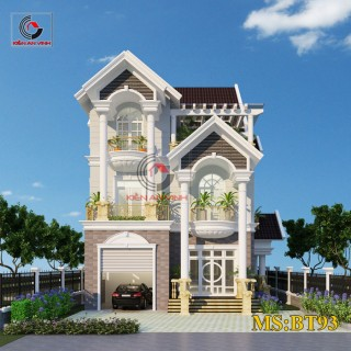 Biệt thự 3 tầng đẹp nhất tại Châu Thành Long An