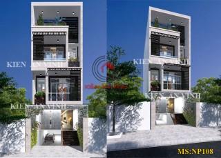Mẫu nhà phố 4 tầng hiện đại đẹp Hiệp Thành City Quận 12