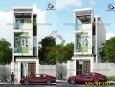 Mẫu thiết kế nhà phố 3 tầng đẹp hiện đại