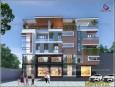 Mẫu thiết kế nhà phố 5 tầng hiện đại