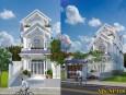 Thiết kế nhà phố 3 tầng phong cách hiện đại nhất