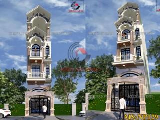 Mẫu nhà phố 4 tầng hiện đại Quận Bình Tân