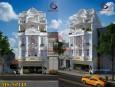 Mẫu thiết kế nhà phố 3 tầng phong cách tân cổ điển