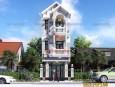 Kiến trúc nhà ống 3 tầng đẹp ở Tiền Giang