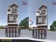 Kiến trúc mẫu thiết kế nhà ống 3 tầng đẹp Thủ Đức
