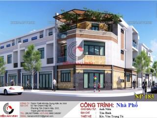 Thiết kế nhà phố 3 tầng đẹp Tân Bình