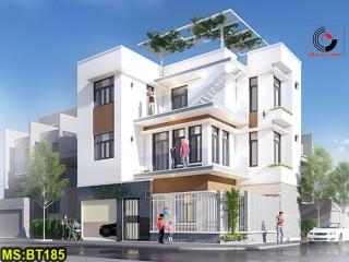 Mẫu nhà phố 3 tầng hiện đại tại Gò Vấp