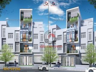 Nhà phố 4 tầng đẹp hiện đại tại Tân Bình