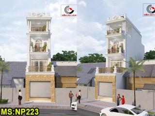 Mẫu thiết kế nhà phố bán cổ điển Gò Vấp