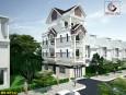 Mẫu thiết kế nhà 4 tầng mái thái đẹp tại Gò Vấp
