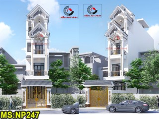 Nhà phố 4 tầng mái thái đẹp tại quận 12