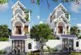 Mẫu nhà phố đẹp 3 tầng tại Bình Dương