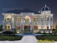 Mẫu biệt thự đẹp 2 tầng tân cổ điển đẹp lộng lẫy